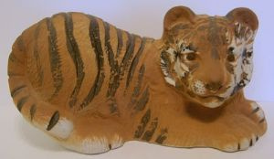 Wade Figurine The Esso Tiger Money Box - Certificate & Box